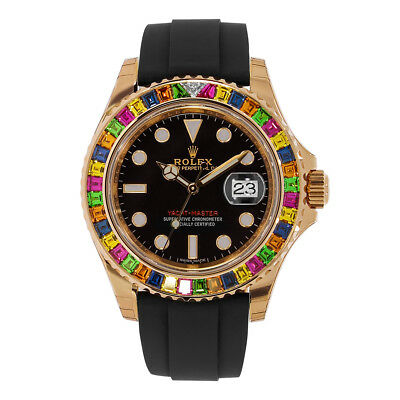 Rolex Oyster Perpetual Yacht-Master 40mm With Gem-Set Bezel Watch 116695 Unworn