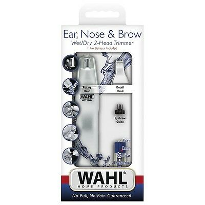 Wahl Dual Head Ear, Nose - Brow Personal Trimmer 1 ea