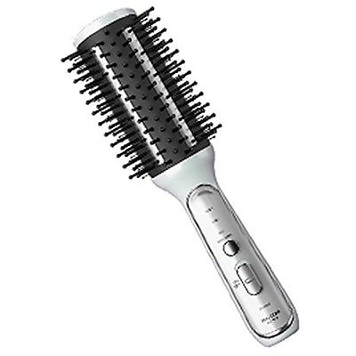 Tescom Hair Iron White Cordless Hot Brush ACH10-W Japan Import New With Tracking