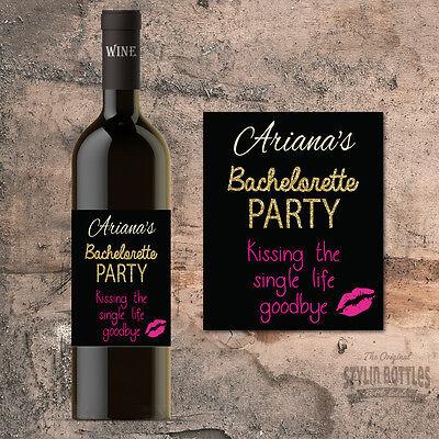 Bachelorette Party Favors, Bachelorette Party Wine Bottle Labels - Wine Party Favors