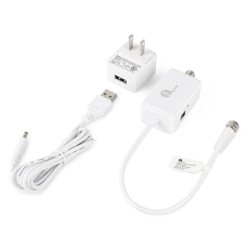1byone HDTV Antenna Amplifier Signal Booster USB Power Suppl