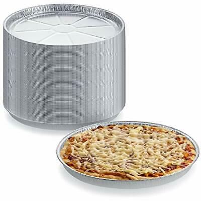 Disposable Cookie Trays (Pack Of 12 Disposable Round Foil Pizza Pans - Durable Tray For Cookies, Cake,)
