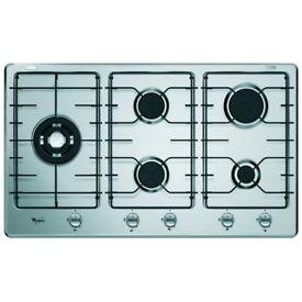 NEW - Whirlpool AKT 906/IX 5 Burner Gas Hob - BARGAIN PRICE @ £100