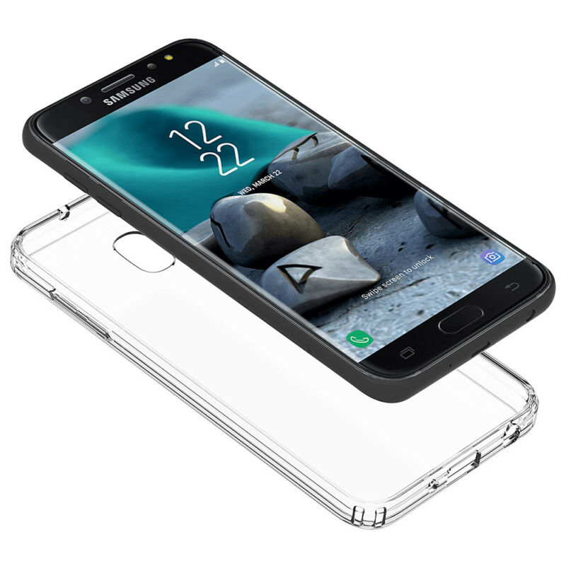 Samsung Galaxy J7 Star/Crown/Refine/V 2018 Clear Slim Rubber