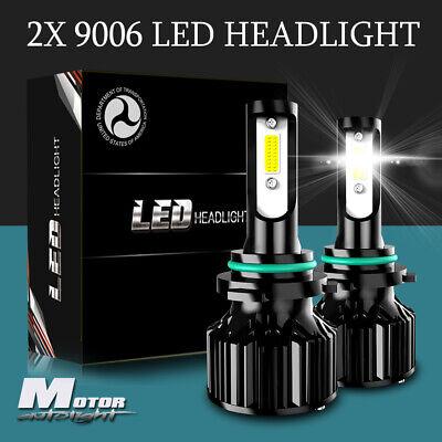 9006 HB4 LED Headlight Bulbs Hi/Lo Beam Conversion Kit 6400LM 6000K HID
