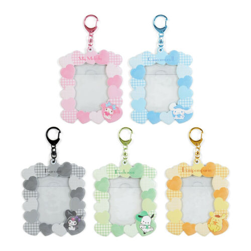 Sanrio Cinnamoroll/Melody/Kuromi/Pachacco Photo Holder Frame Charm Keychain New