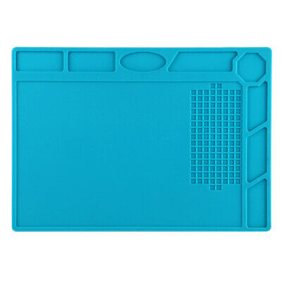 Heat Insulation Silicone Desk Pad Mat Soldering Repair Maintenance Work Platform