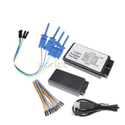 Iic Spi Lht00su1 24mhz Usb Logic Analyzer Connection Line Test Clamp Clip Kit