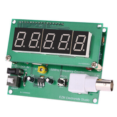 New 1hz-50mhz Frequency Counter Meter Tester Module Digital Red Led Display X2t1