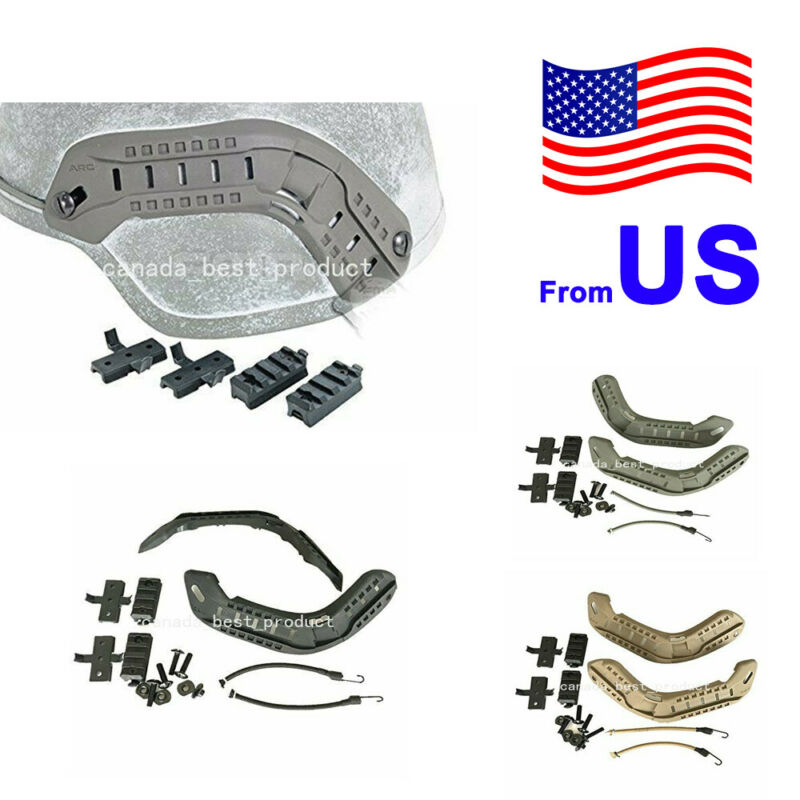 FMA Helmet Guide Rail Kit for ARC MICH Helmet Accessories Tactical Airsoft USA