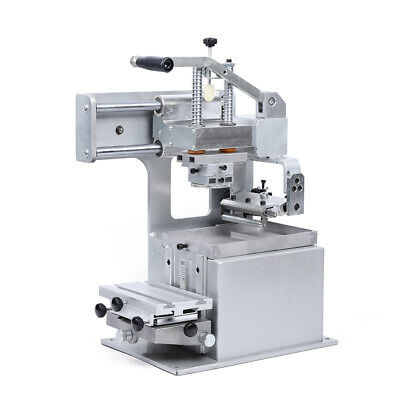 Manual Pad Printing Machine Pad Printer Tool Opened Ink Dish System Plate Pad