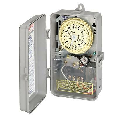 60-Cycle 240-V Mechanical Garden Lawn Pump Greenhouse Irrigation Sprinkler Timer