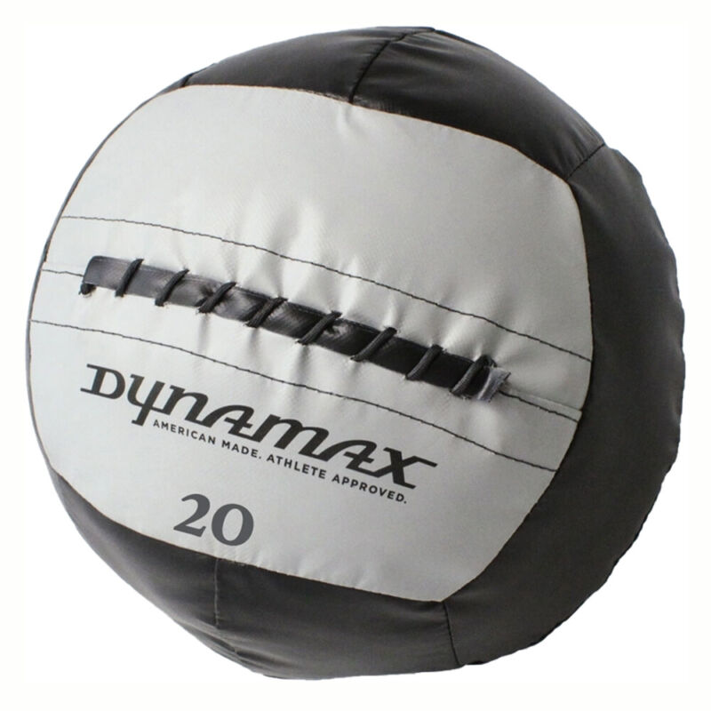Dynamax 20 Pound 14 Inch Burly Medicine Ball for Core Workout, Black (Open Box)
