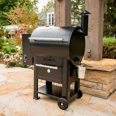 Traeger Century 22 Wood Pellet Grill & Smoker [NO TAX] BBQ, Cover Included