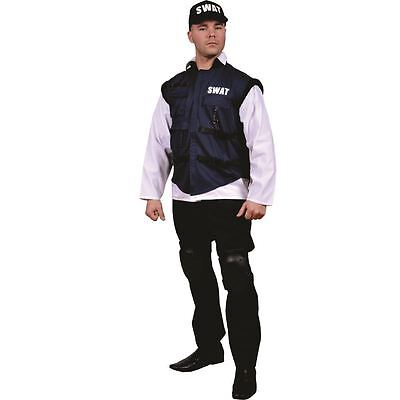 Adult SWAT Team Fancy Dress for Role Play - Swat Costumes For Adults
