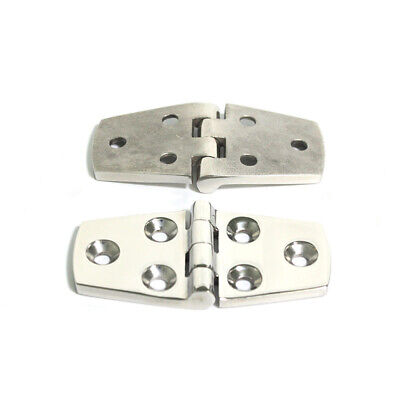 Stainless Steel Marine Hardware (2pcs Marine Boat 316 Stainless Steel Strap Hinge 3