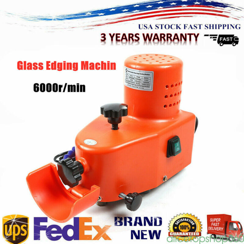 Small Glass Edging Machine Edging and Polishing Machine Single Phase Motor