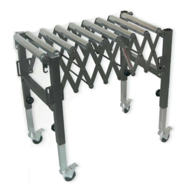 SuperMax SUPMX-875600 Expandable Roller Conveyor New