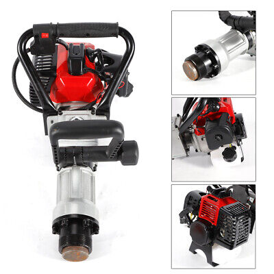 32.6CC 2 Stroke Gas Powered T-Post Driver Gasoline Push Pile Fencing 900W UK