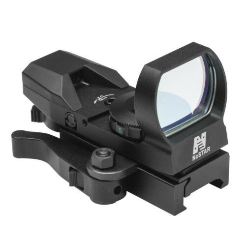 Multi Retical QD Tactical Reflex Aiming Sight w/ Mount Fits Picatinny Rails