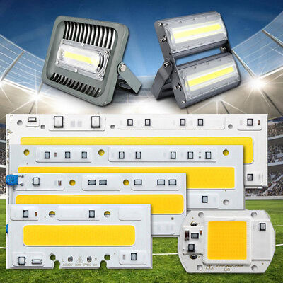 (20W 30W 50W 70W 100W 150W High Power Flood Light COB LED Chip Bulb Warm/White)