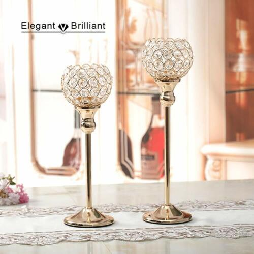 1pc Coffee Dining Table Centerpieces Metal Candlesticks Stand For Wedding Home Candle Holders & Accessories