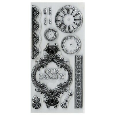 """Duchess Clear Stamps 8.25""""x4""""-"""