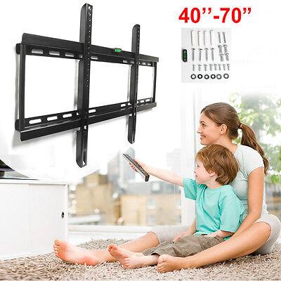 "Flat Screen TV Wall Mount Bracket LCD LED Plasma For 40-70"""