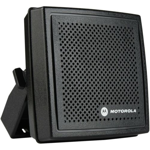 NEW Motorola HSN4031B External Radio Speaker w/ Bracket and Screws