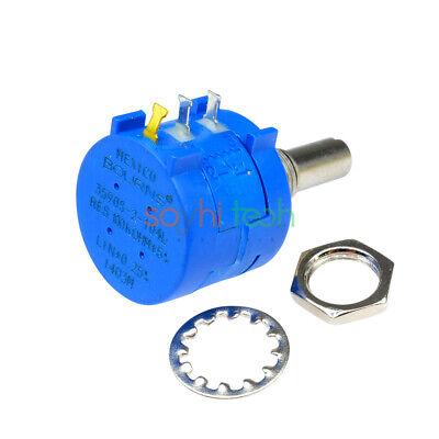 3590s 2w Precision Wirewound Potentiometer 500r 2k5k10k20k50k100k Ohm Pot 10turn