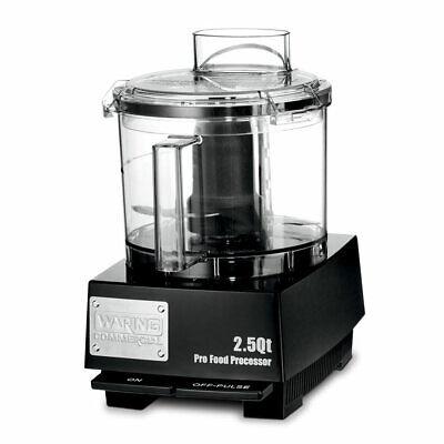 Waring Wfp11sw 1 Speed Cutter Mixer Food Processor W 2 12 Qt Bowl 120v