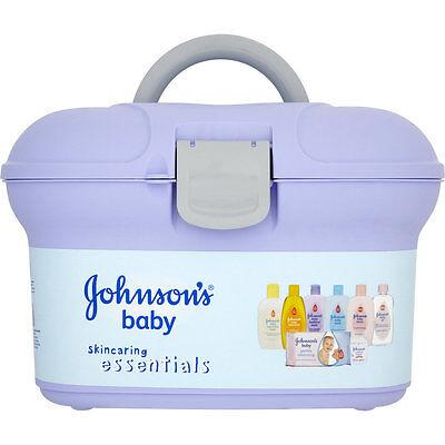 Johnson's Baby Skincare Essentials Box, Newborn Gift Set