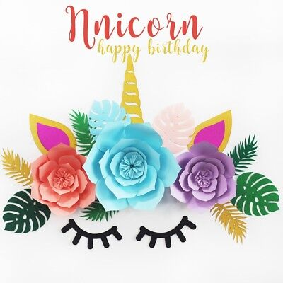 Paper Unicorn Backdrop Decoration Baby Shower Birthday Themed Party Supplies - Baby Shower Themes Party Supplies
