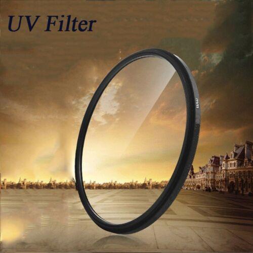 Durable 62mm UV Filter Black