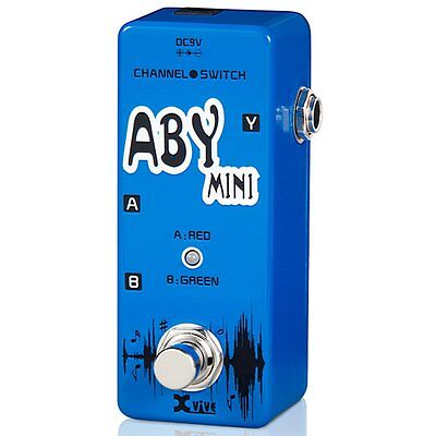 Xvive V12 Mini 'ABY Mini' Channel Switch Pedal, XV12