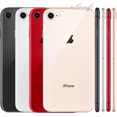 APPLE IPHONE 8 64GB SPACEGRAU SCHWARZ GOLD SILBER ROT SIMLOCKFREI, wenn vorrätig Apple Iphone 3g Handy