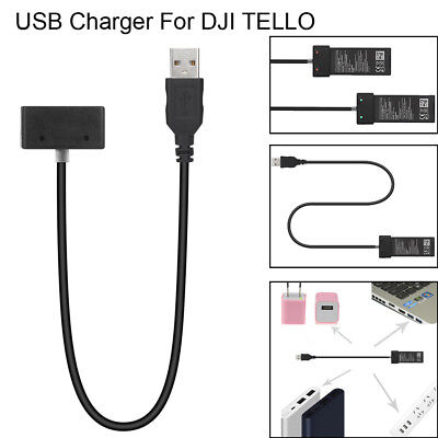 USB Battery Charger Hub RC Intelligent Charging For DJI Tello Drone Quadcopter