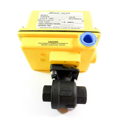 Sharpe Valves Electric Ball Valve Actuated 38 115vac Seaiirx