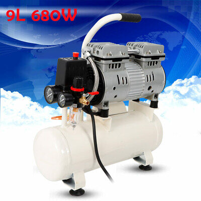 Air Compressors & Blowers Aflatek Silent Compressor 10 Liter Oil Free Low Noise 66db Clinic Air Compressor