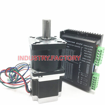 Nema23 1.8nm Stepper Motor L76mm 51 Planetary Gearbox Driver Cnc Router Kit
