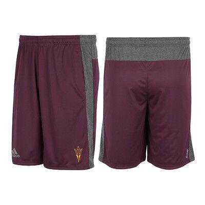 Arizona State Sun Devils Adidas NCAA Men's Maroon Aeroknit Climacool Shorts