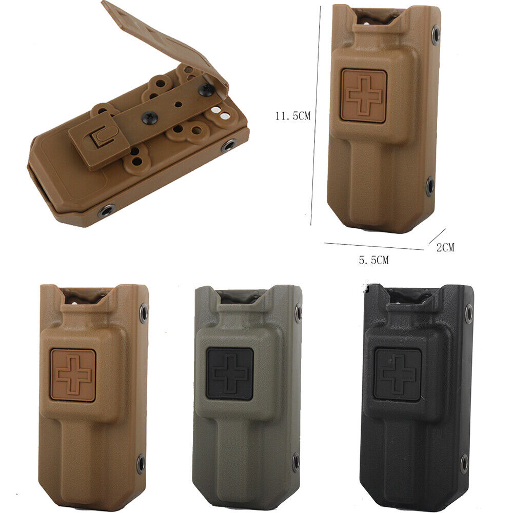 Tourniquet Carrier Pouch Molle Storage Bag Camping Men Holder Bag Multi-purpose Hunting