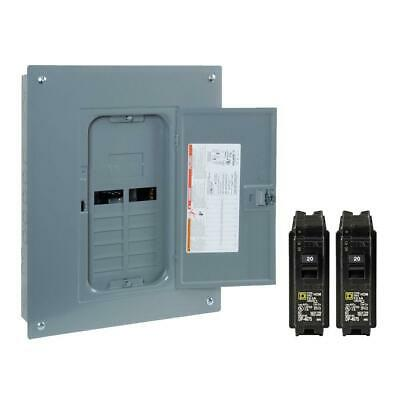 Indoor Main Breaker 125 Amp 12-space 24-circuit Plug-on Neutral Load Center New