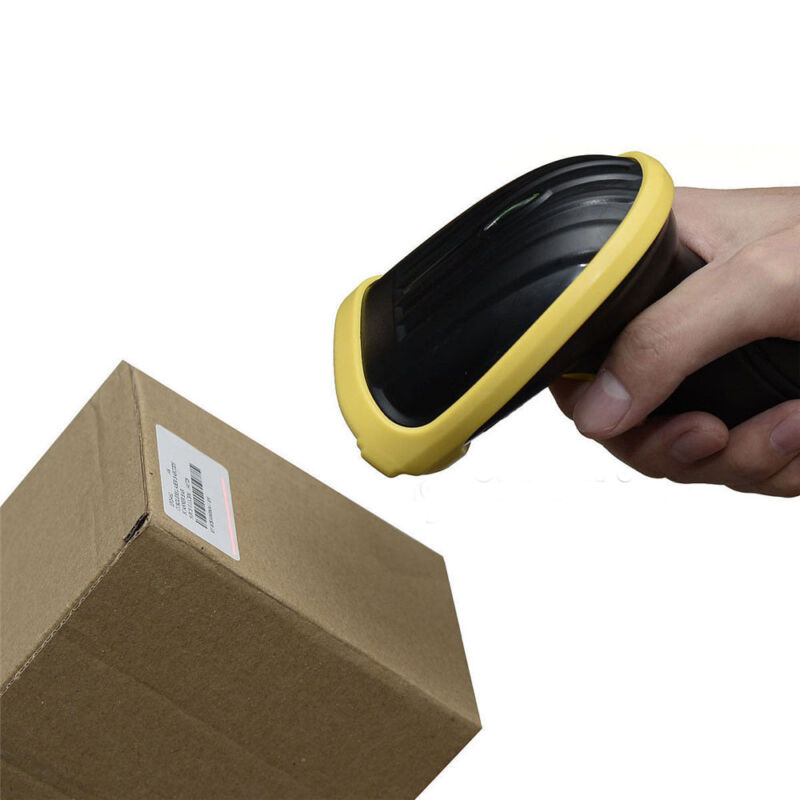 New 2.4G High Speed Wireless Laser USB Barcode Scanner Scan Gun Label Reader