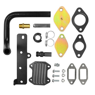 EGR Cooler Delete Kit For 2013-2018 Dodge Ram 2500 3500 4500 6.7L Cummins Diesel