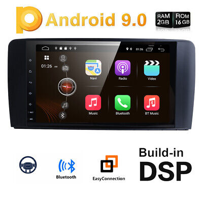 "9"" Autoradio für Mercedes Benz ML/GL-Klasse W164 X164 Android 9.0 GPS DAB+4G DSP"