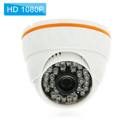 1080P HD POE IP Haube Kamera 2.0MP 3.6mm 36PCS IR Lampen H.265 / H.264 / V2E2 H264 Hd