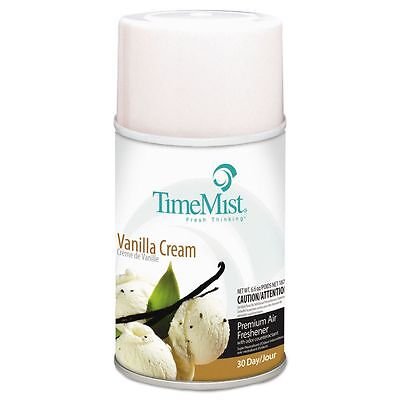 TimeMist Metered Aerosol Fragrance Dispenser Refills, Vanilla Cream, - TMS4726