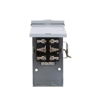 Manual Transfer Switch 100-amp 240v Non-fused Emergency Power Transfer Switch