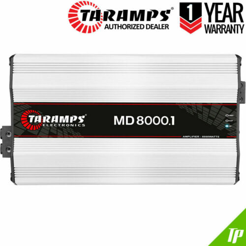 Details about  Taramps MD 8000 1 Ohm Amplifier HD 8K 8000.1 Bass + Voice Car Amp